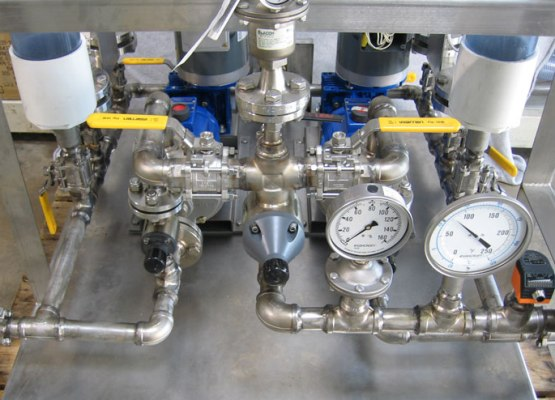 Wanner Hydra-Cell metering and dosingpump