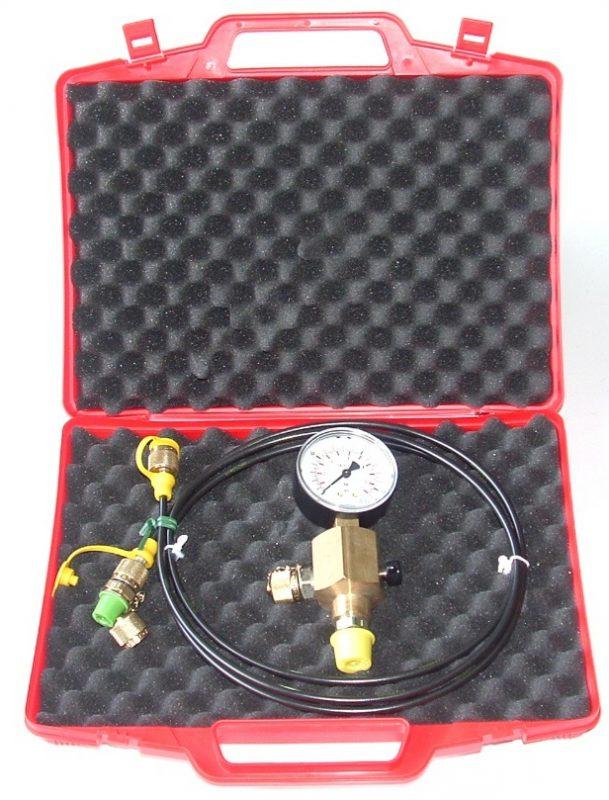 Flowguard charging assembly vulset voordemper