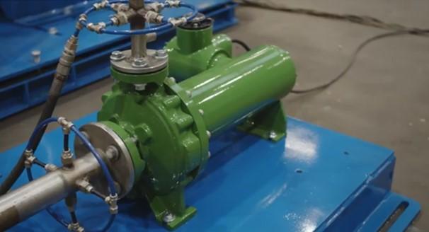 Hermag canned motor pomp video demontage