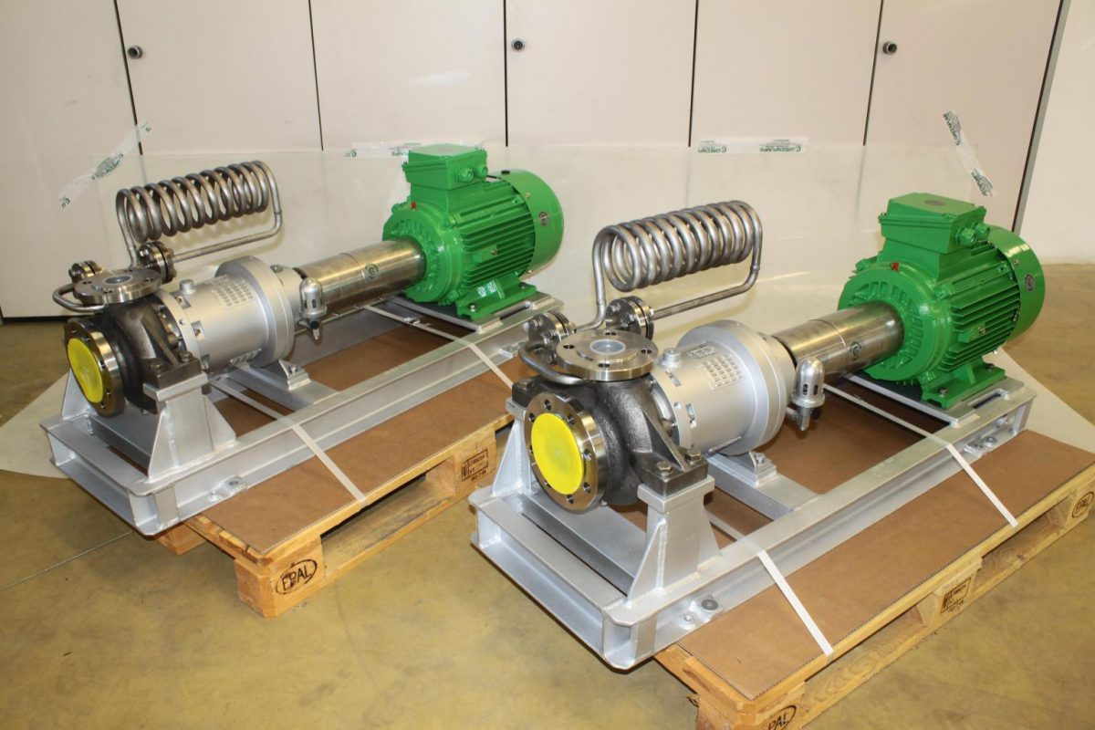 Greenpumps magneetgedrevene centrifugaalpompen