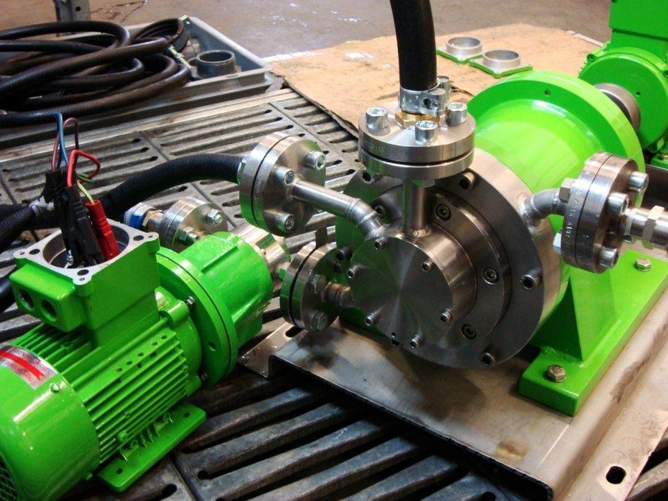 Greenpumpsmagneetgedrevenen turbinepompen