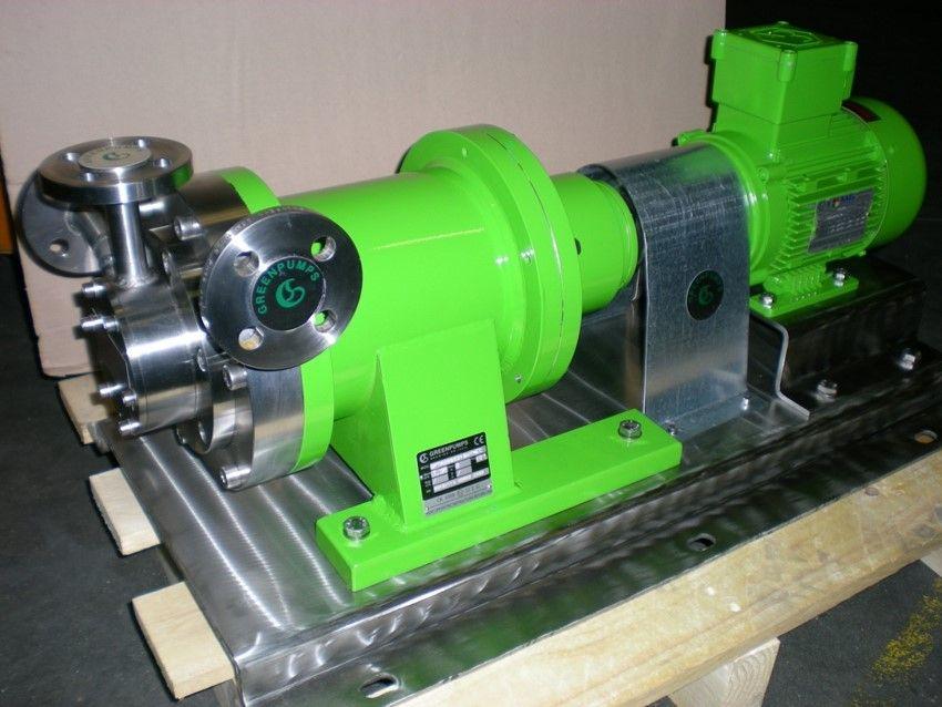 Greenpumps magneetgedrevenen turbinepompen