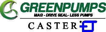 Greenpumps - Caster pompen